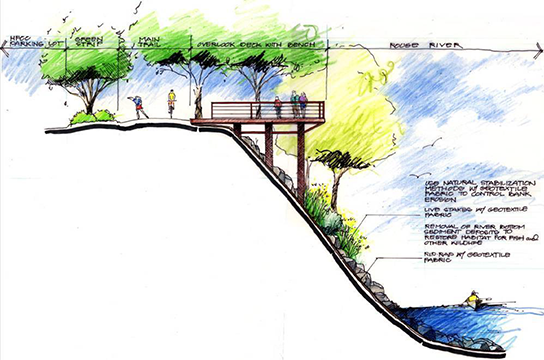 Plans for Kingfisher Bluff Deck