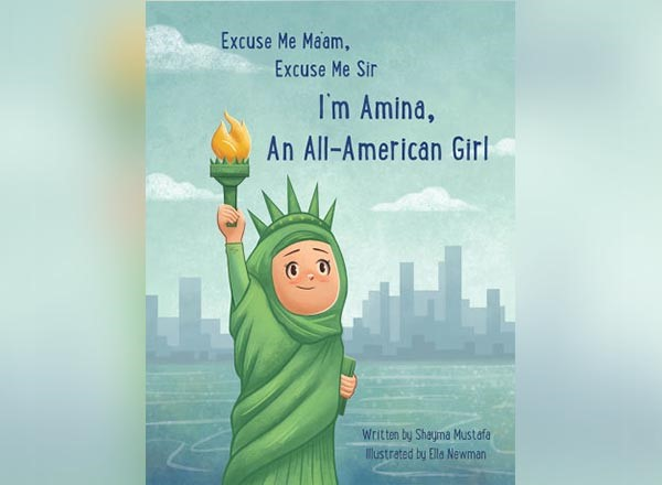 "In addition to teaching, Shayma Mustafa wrote the children's book, ""Excuse Me Ma'am, Excuse Me Sir: I'm Amina, An All-American Girl."""