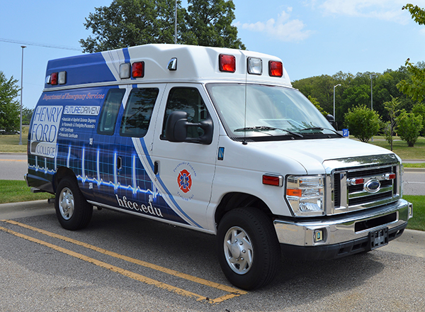 The HFC ambulance gets all-new graphics.