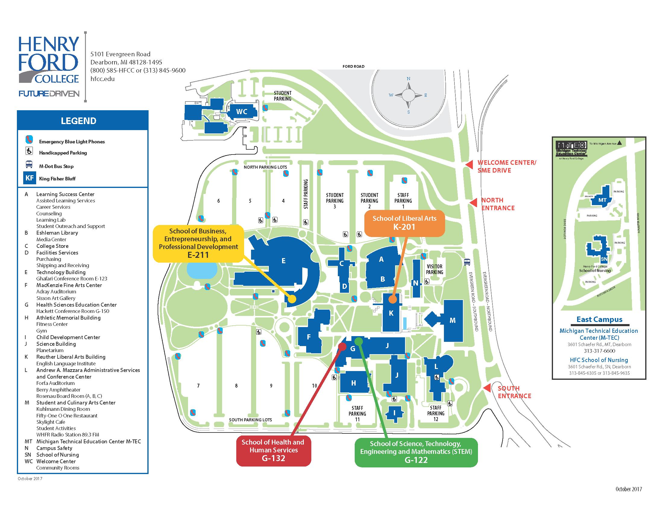 Map of oregon universities