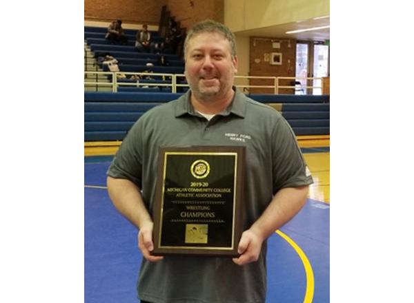 HFC wrestling coach Grant MacKenzie was named MCCAA Coach of the Year.