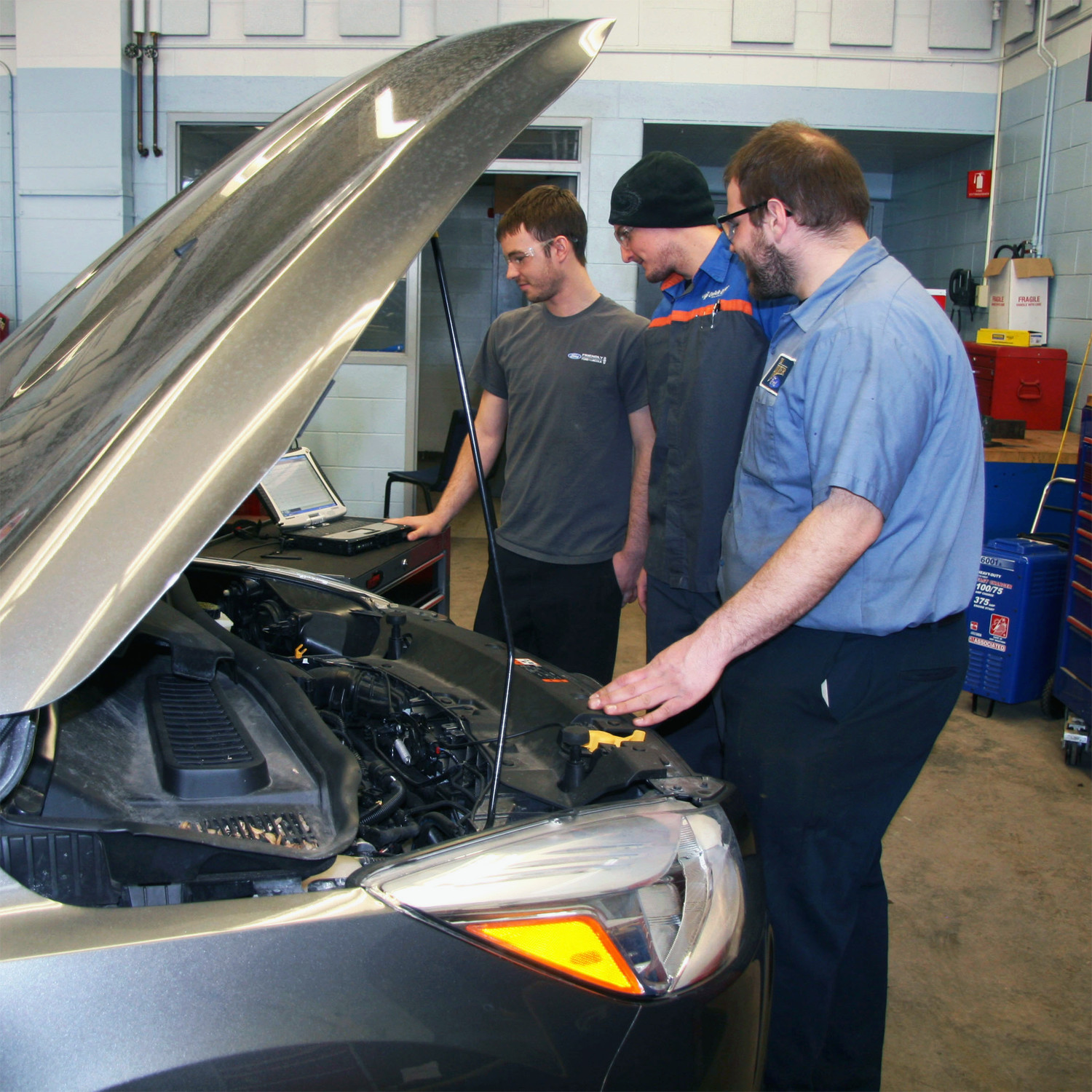 one of the largest programs in the Ford System with 24 full-time students