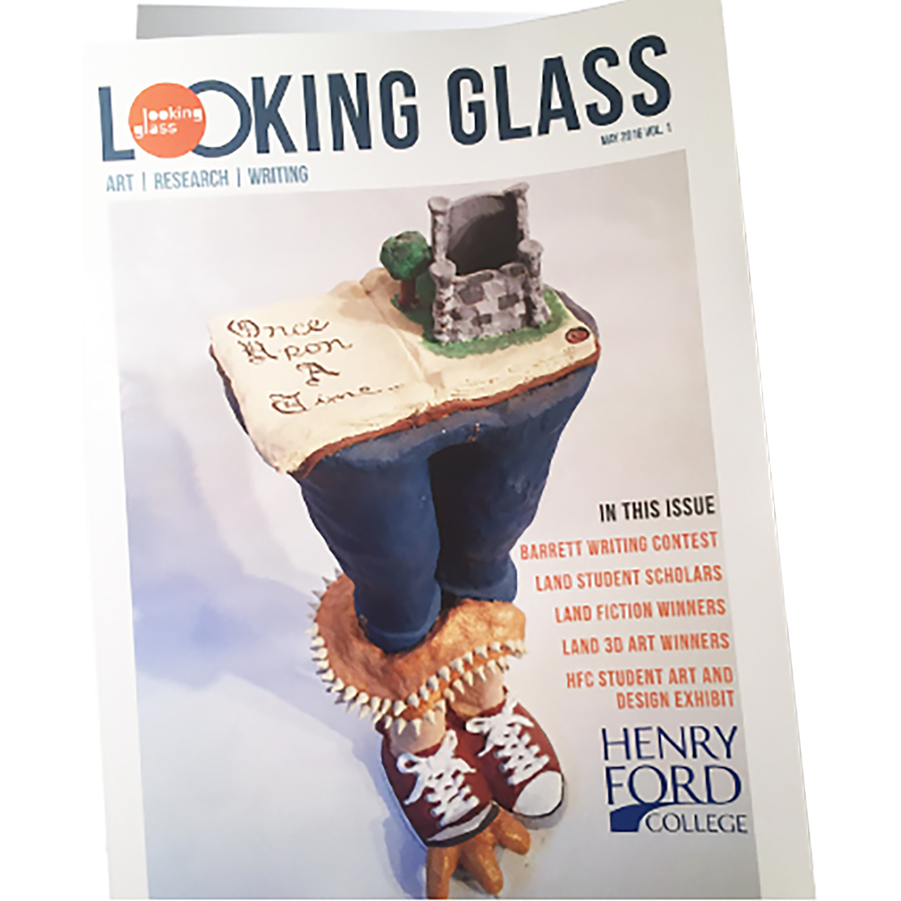 The Looking Glass literary arts magazine.