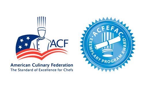 ACF and ACFEFAC accreditation logos