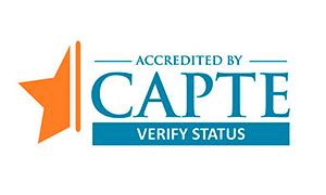 CAPTE Accreditation Logo