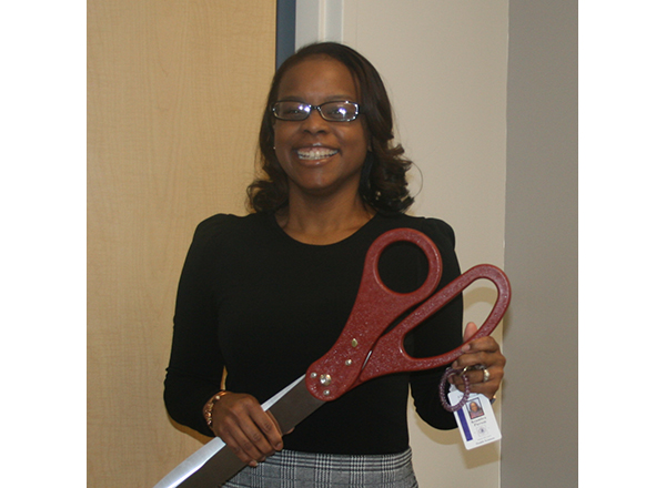 HFC Surgical Technology program director Keambra Pierson is also a 2006 alumna of the program.