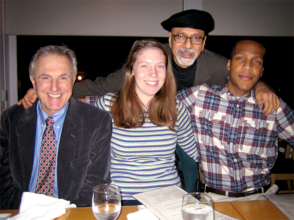 Photo courtesy Nabeel Abraham. L-R: Mike Daher, Leah Mantei, Nabeel Abraham, Joseph Headen, circa 2012.