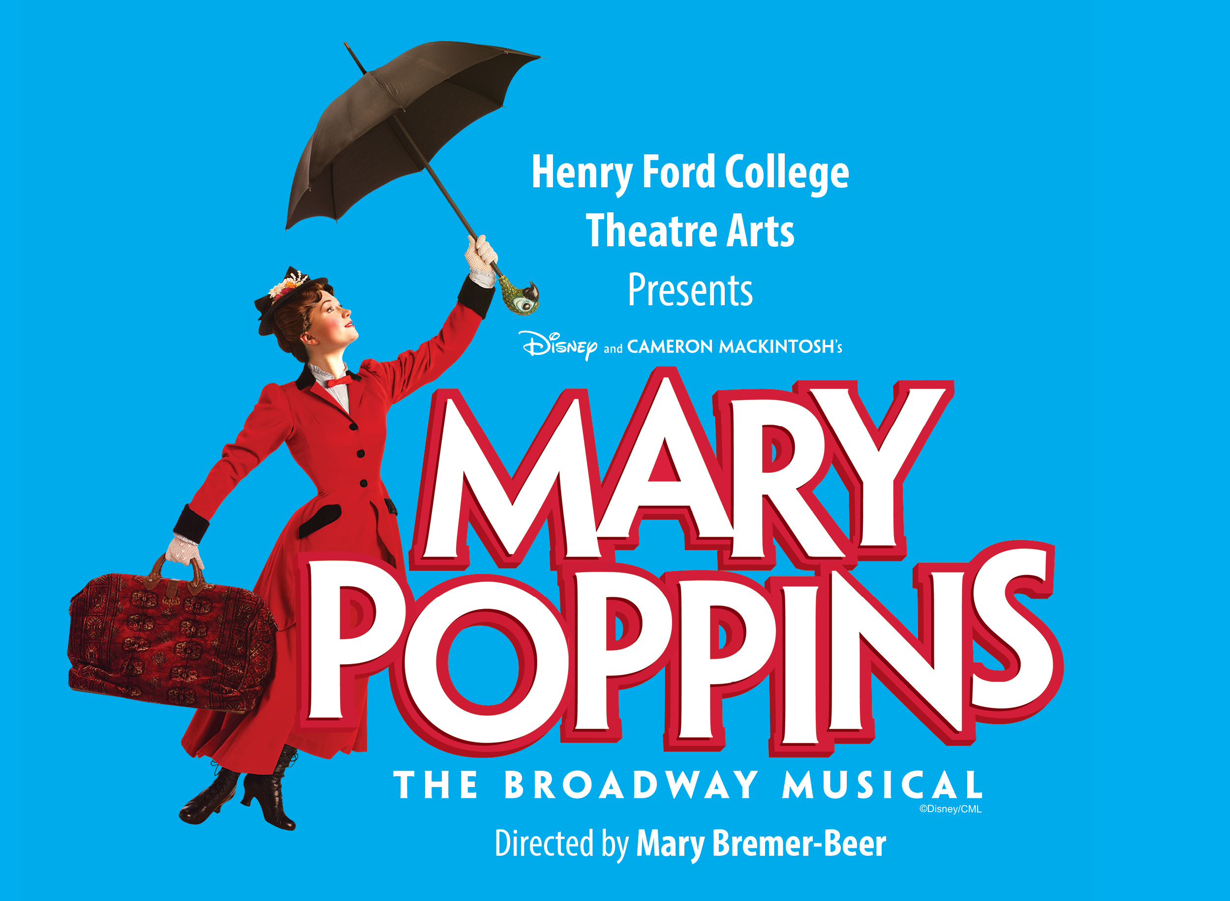 Mary Poppins promotional graphic