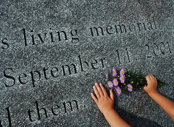 granite carving for 9/11 living memorial