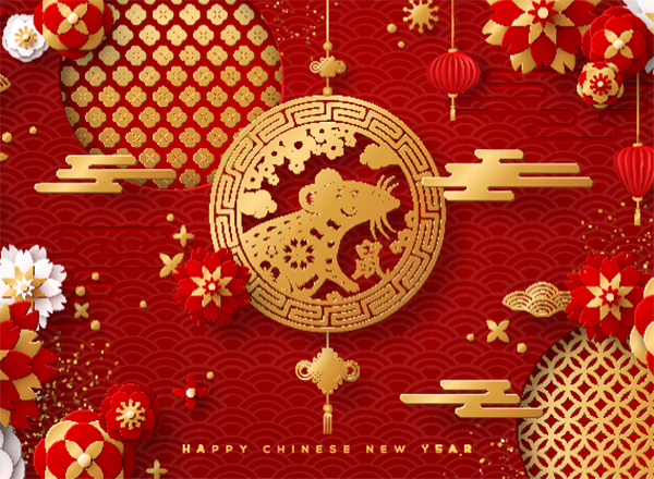 Chinese New Year 2020 art