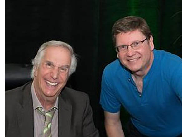 """Cunningham and """"the Fonz"""""""