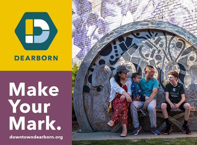 New Dearborn logo and creative