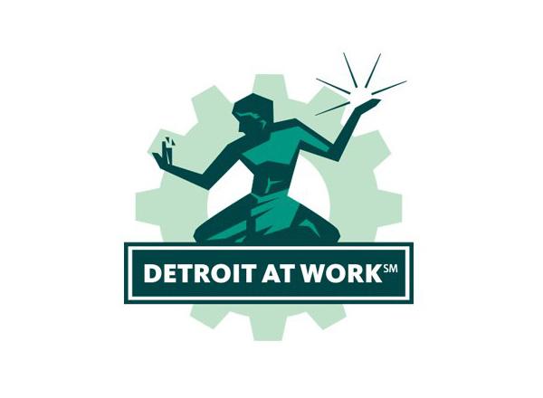Detroit at Work logo