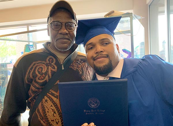 Dunamis Archer and his father, Andre.