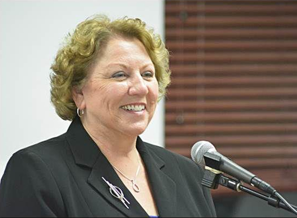Elke Doom, a two-time HFC alumna, is the new city manager for Eastpointe. Photo courtesy Hamtramck Review.
