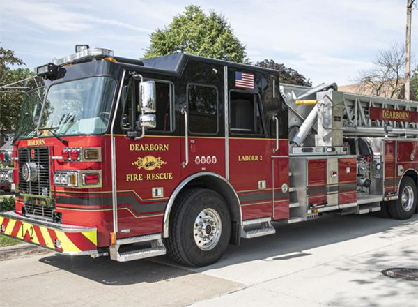 City of Dearborn fire truck (photo courtesy City of Dearborn)