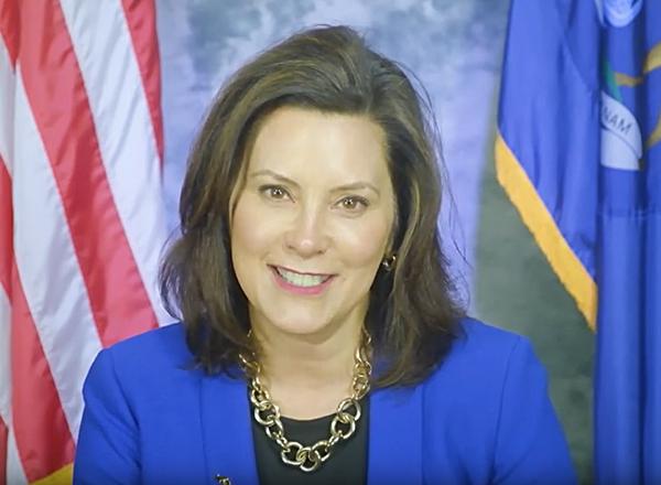 Headshot of Governor Whitmer