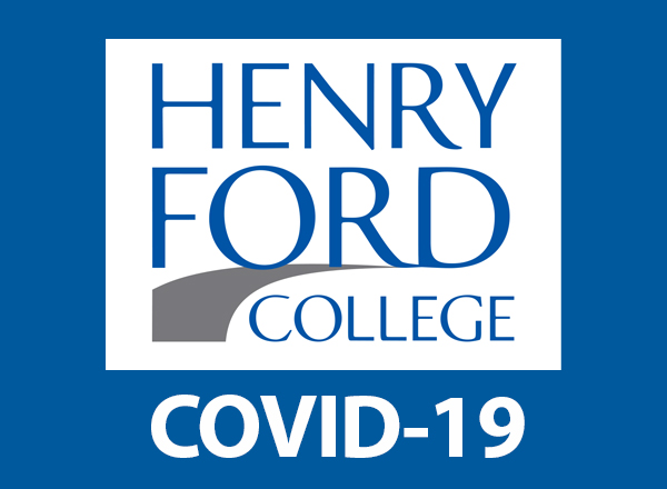 HFC logo on blue field with COVID-19 beneath