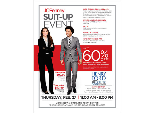 Flyer of Suit-up event