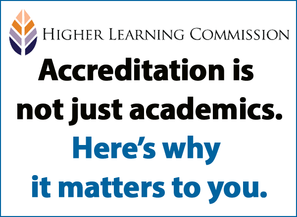 HLC Accreditation graphic
