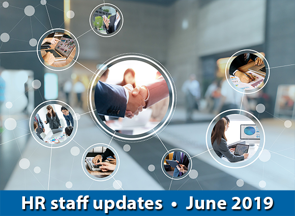 background with multiple bubble images: HR Update