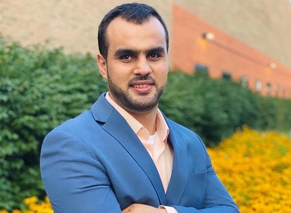 A headshot of Khodr Farhat.