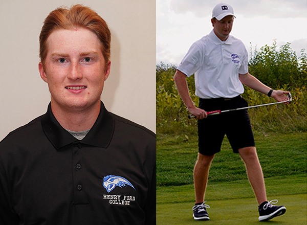 HFC golfer Matt Kosiba placed second in the MCCAA Eastern Conference this season.