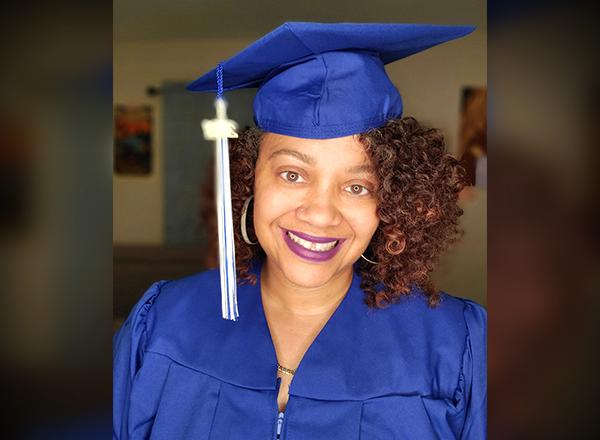 Marilyn Torres, HFC associate degree graduate.