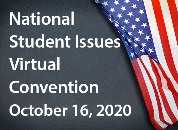 National student issues convention graphic