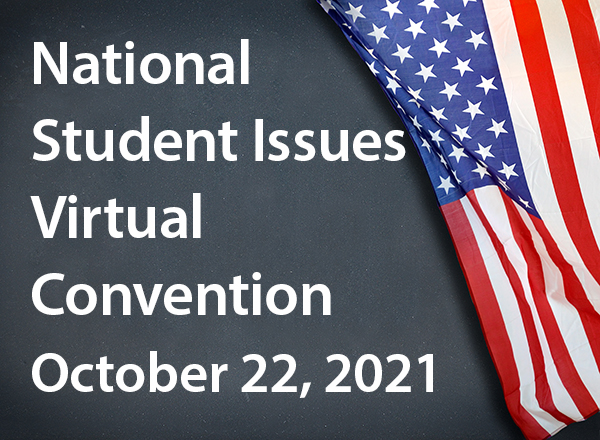 National Student Issues Virtual Convention graphic