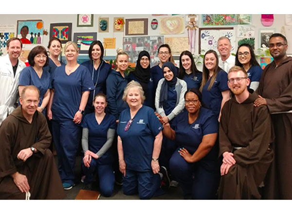 OTP students and Capuchins