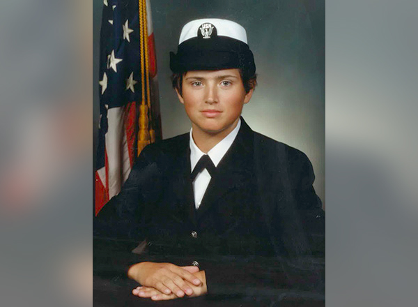 Sandra Wilkins' Navy portrait