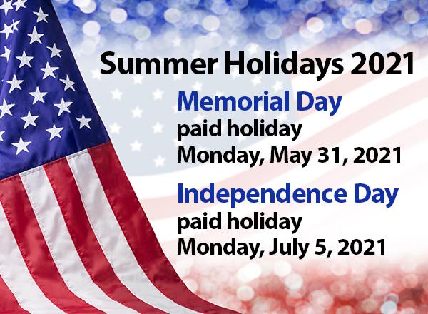 Summer holidays graphic