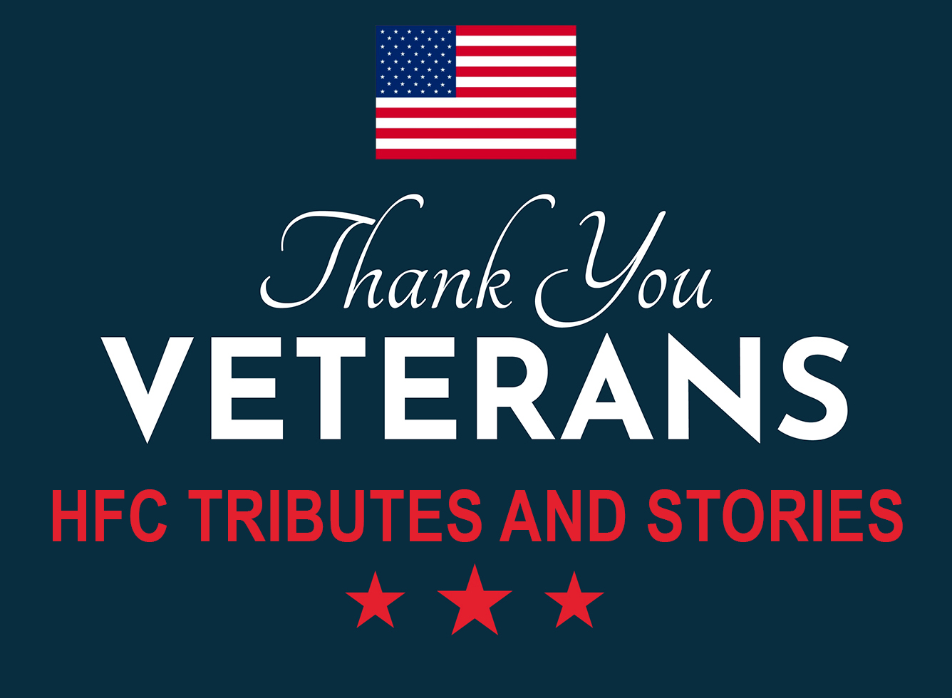 HFC veterans day graphic