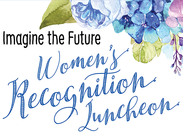 Women's Recognition Luncheon graphic for 2019