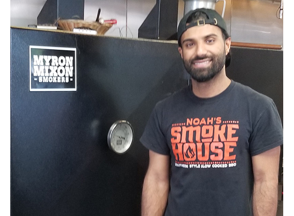 HFC alumnus Noah Saleh is the co-owner of Noah's Smokehouse, which recently opened in Dearborn.