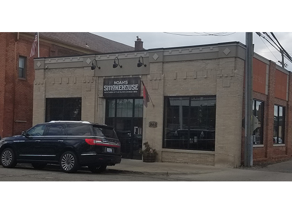Noah's Smokehouse is located at 940 Monroe in Dearborn.