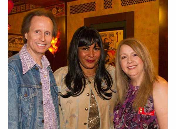 "From L-R: Patrick Picking, ""Foxy Brown"" actress Pam Grier, and Sharon Pearl Picking at the Redford Theatre in Detroit."