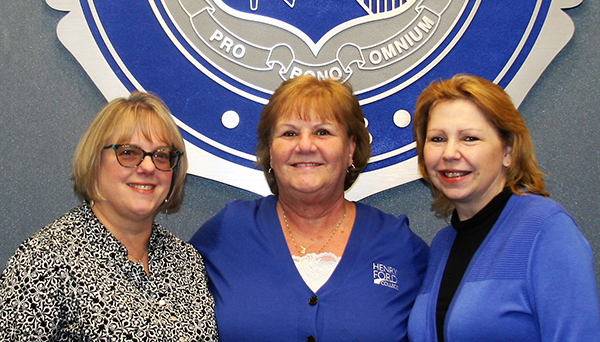 Campus Patty/i's, L-R: Patti Sekulidis, Patty Sellers, Patti Flogaus