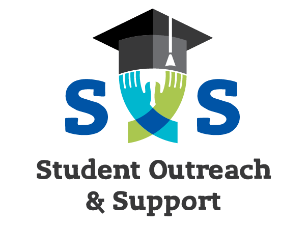 Logo for Student Outreach and Support (SOS)