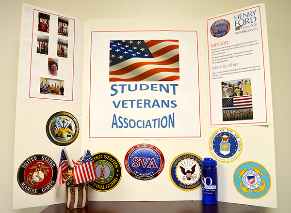 HFC Veterans Center resource board