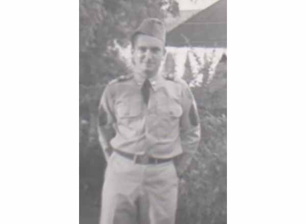 Harold Promo when he was in the Michigan Army National Guard circa 1953.