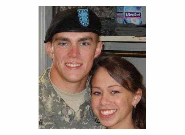 PFC Christopher Sroka and his sister Samantha.