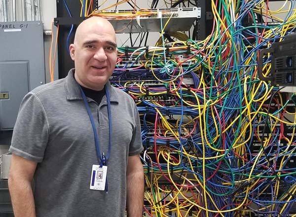 HFC Computer Tech Associate Raed Abukhader