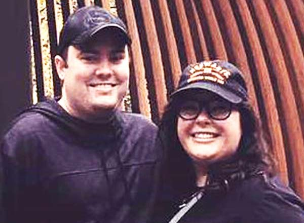 Rachel Jones and her husband Brandon
