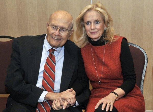 John and Debbie Dingell, 2014. Courtesy Ortiz / AP