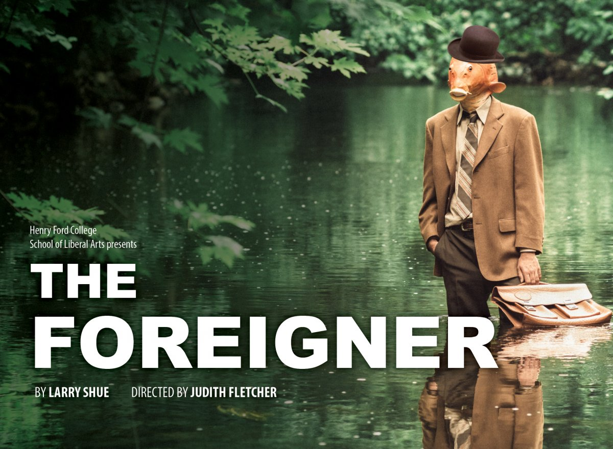 The Foreigner graphic