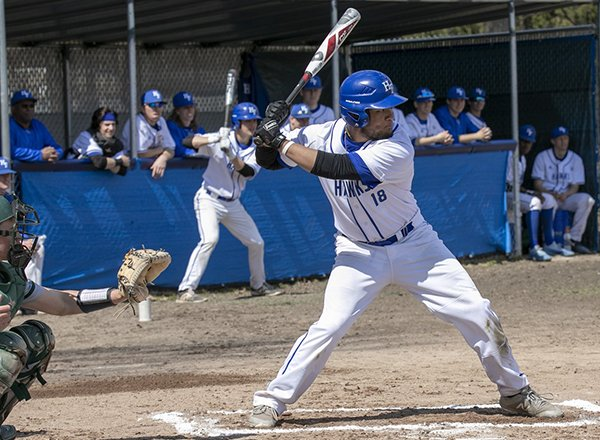 Photo of baseball player at the plate