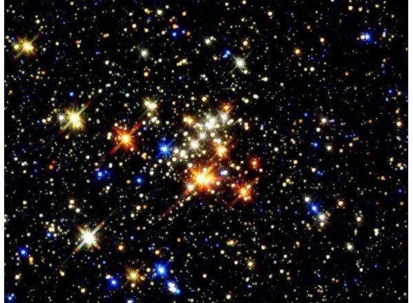 Photo of stars in the sky