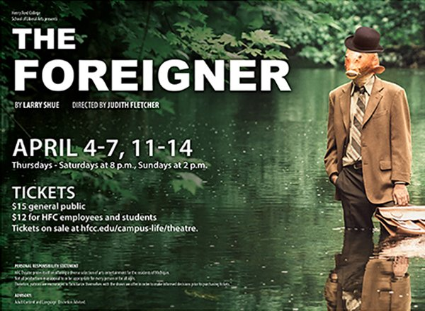 Foreigner movie poster